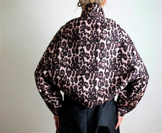 Jacketa neopren animal print