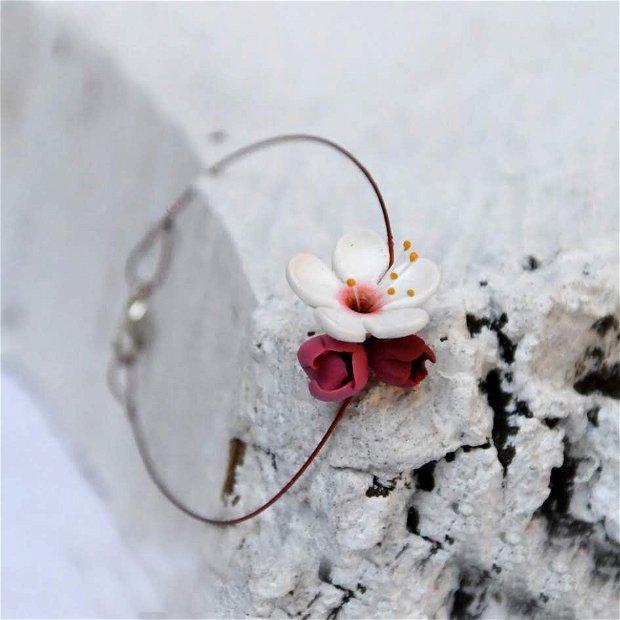 MARTISOR- Bratara floare de cires