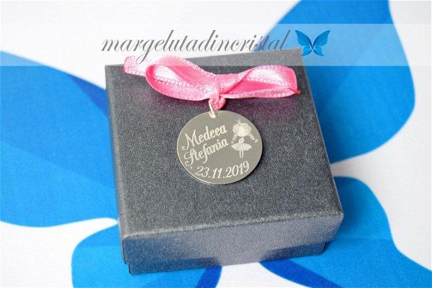 Banut Mot/Botez/Ruperea Turtei Argint 925 2,2 cm