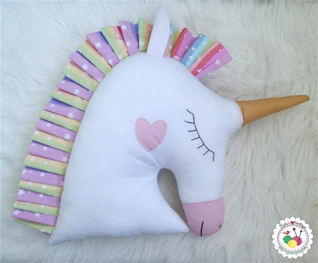 Unicorn curcubeu- perna