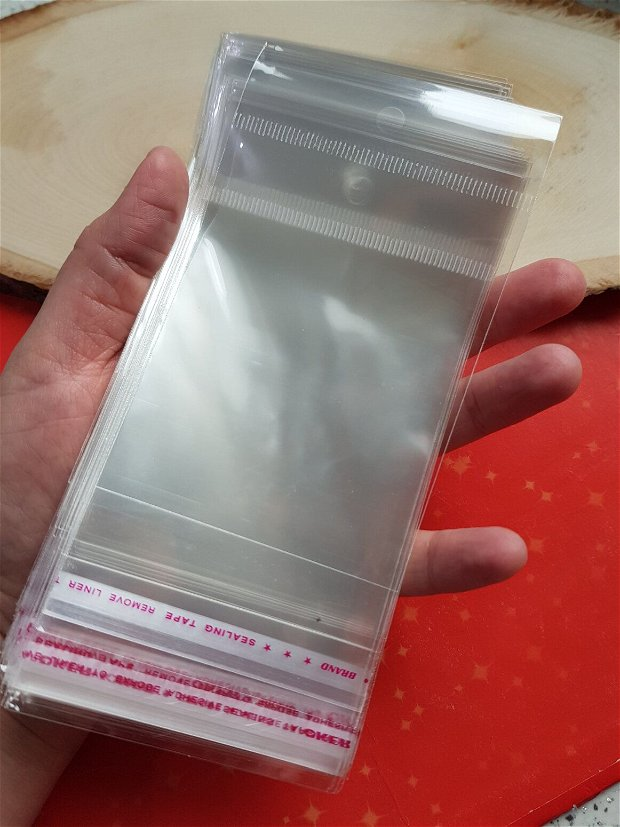 Set 200 punguțe transparente