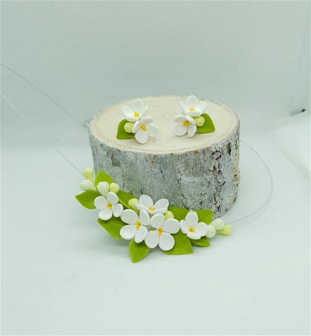 Set liliac alb