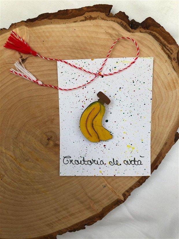 Mărțișoare fructe pictate