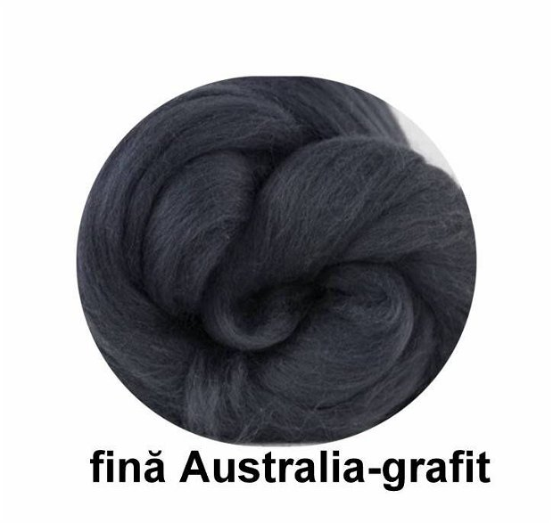 lana fina Australia-grafit
