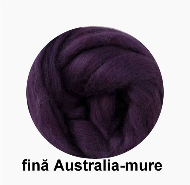 lana fina Australia-mure
