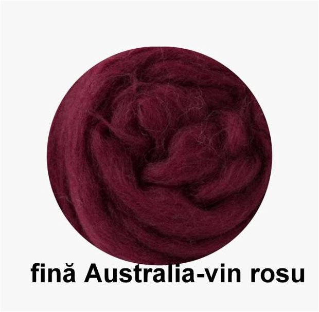 lana fina Australia-vin rosu