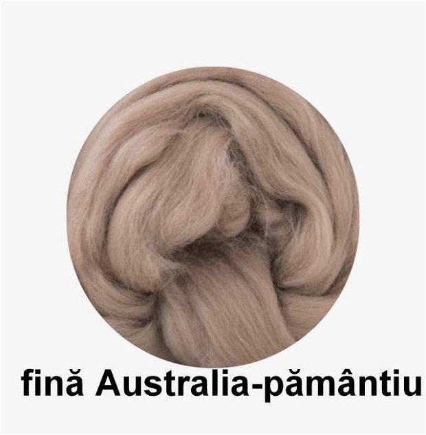 lana fina Australia-pamantiu