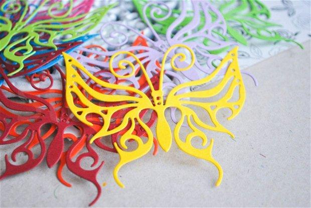 30b. fluturi colorati