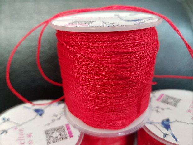 100m Șnur roșu (1mm)