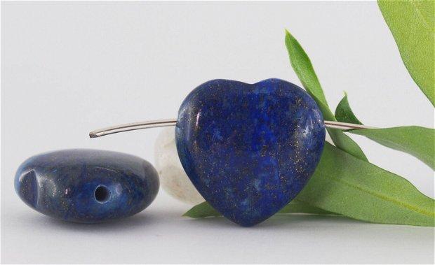Pandantiv lapis lazuli 25x25x13mm
