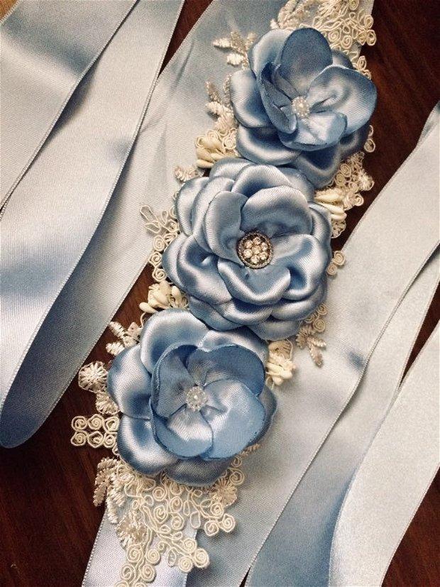 Brau elegant bleu (711)
