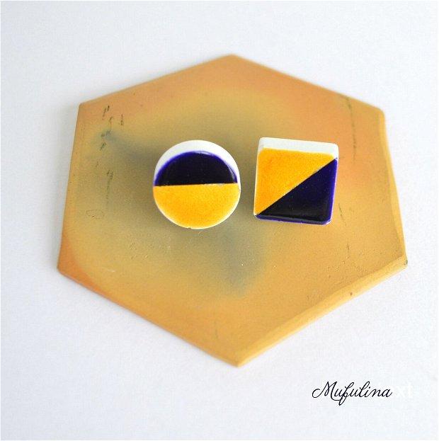 Cercei din ceramica