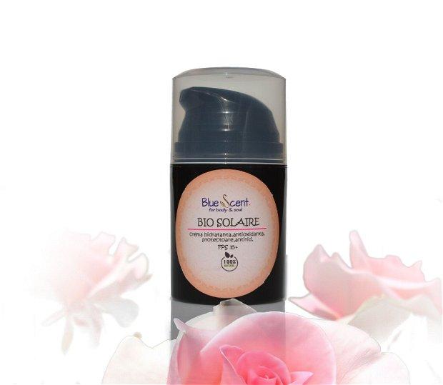 Bio Solaire-crema cu factor de protectie solara 35 +,hidratanta,antioxidanta,antirid-BlueScent
