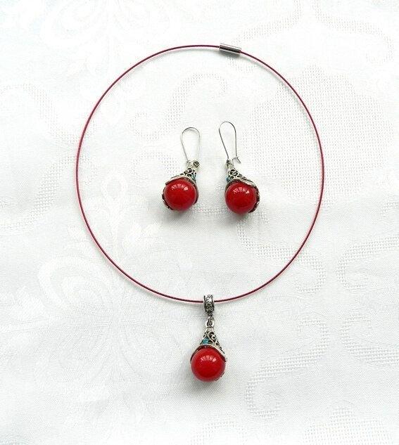 Set sfere roşii Nepal