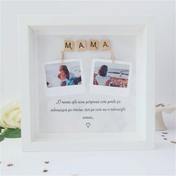 Mama | Ramă foto pentru mama | Cadou ziua mamei | 8 Martie | Ziua femeii