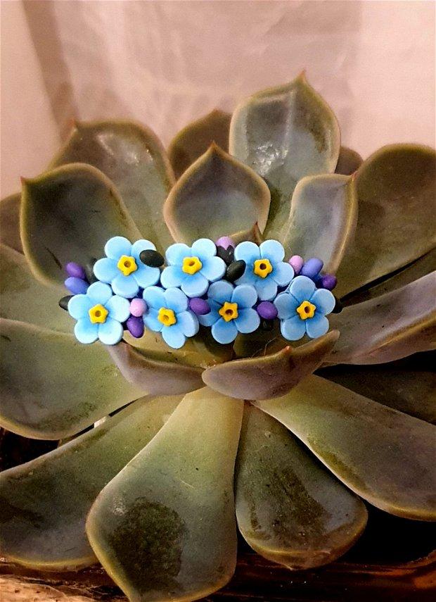Accesoriu flori de nu-ma-uita