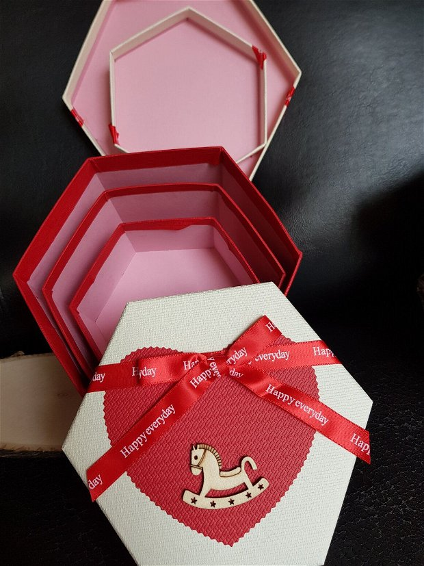 Stet 3 cutii cadou