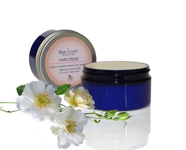 Hair Dress-masca tratament pentru par deteriorat,fragil,devitalizat,cu varfuri despicate-BlueScent