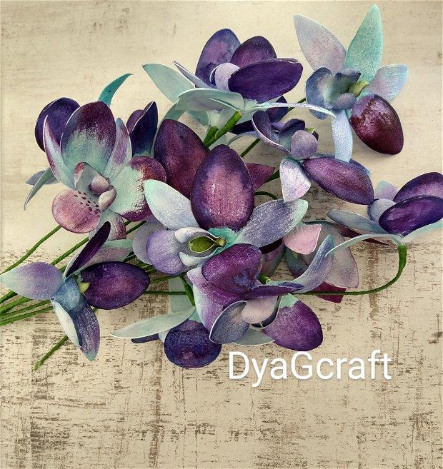 Orhidee imperiale blue pt decor,buchete