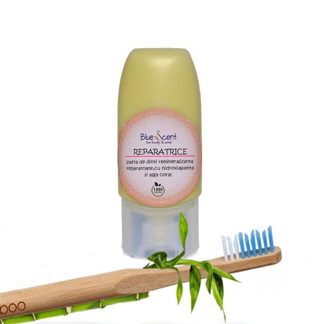 Reparatrice-pasta de dinti remineralizanta,reparatoare ,cu alge calcaroase-BlueScent
