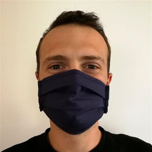 Masca de protectie bleumarin cu filtru din polipropilena