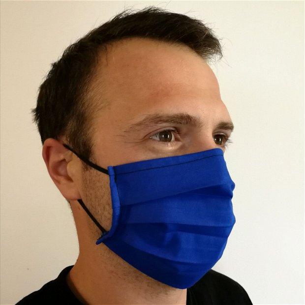 Masca de protectie albastru închis cu filtru din polipropilena