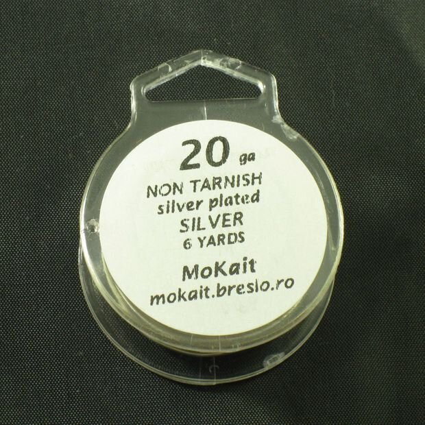 Sarma modelaj (placata Ag) silver non tarnish 12-30 gauge