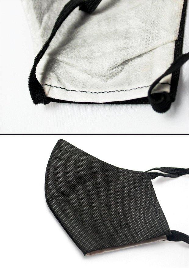 Masca protectie din T.N.T si S.M.S cu buzunar filtru