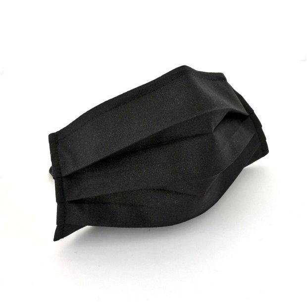 Masca din bumbac, culoare negru