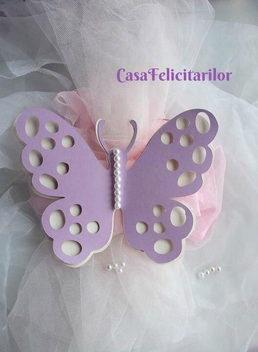 Fluture mare  decorativ  mov-model 2