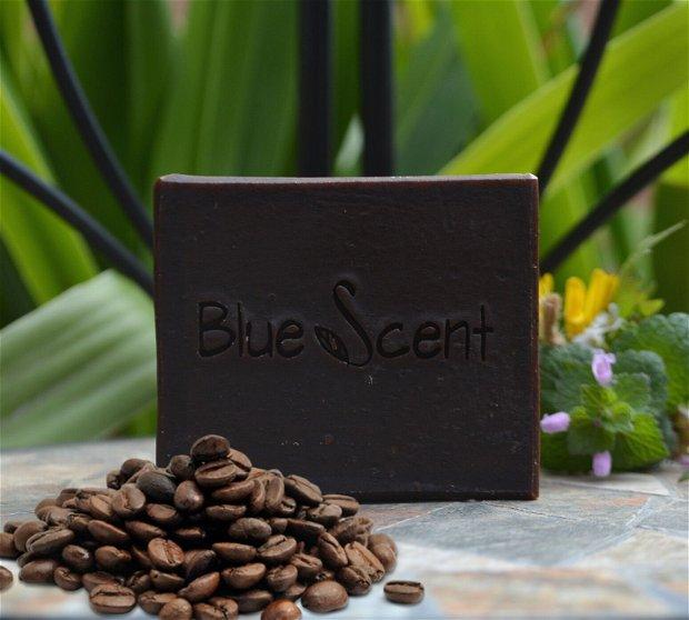 Sabor do cafe-sapun exfoliant,anticelulitic cu cafea si scortisoara-BlueScent