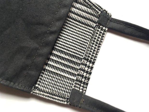 Masca din bumbac , 2 straturi