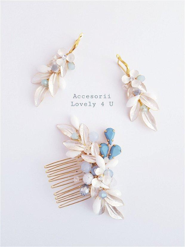 Karina - Accesoriu elegant in tonuri Baby blue