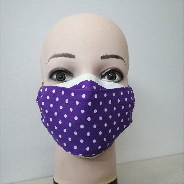 Masca reutilizabila din bumbac, adulti /copii
