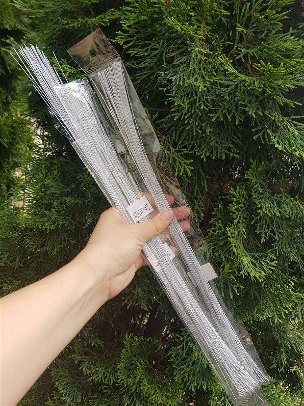 20 buc Sarma floristica albă  (0,5mm)