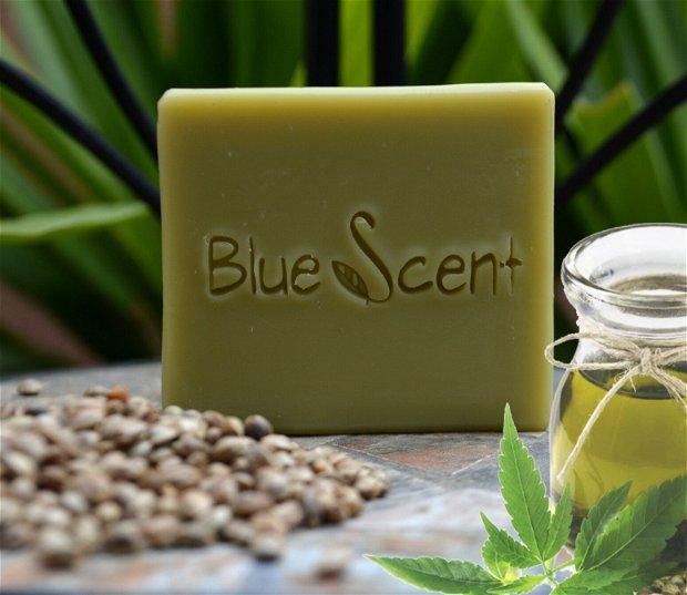 Hemp-Pure-sapun cu canepa si tamanu-BlueScent
