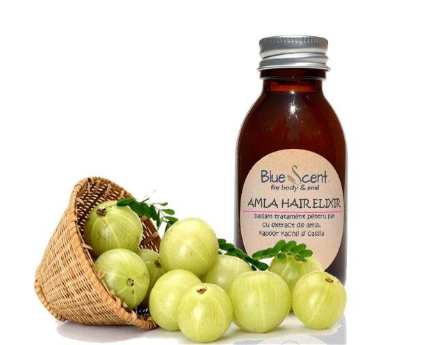 Amla Hair Elixir-balam tratament pentru par cu amla -BlueScent