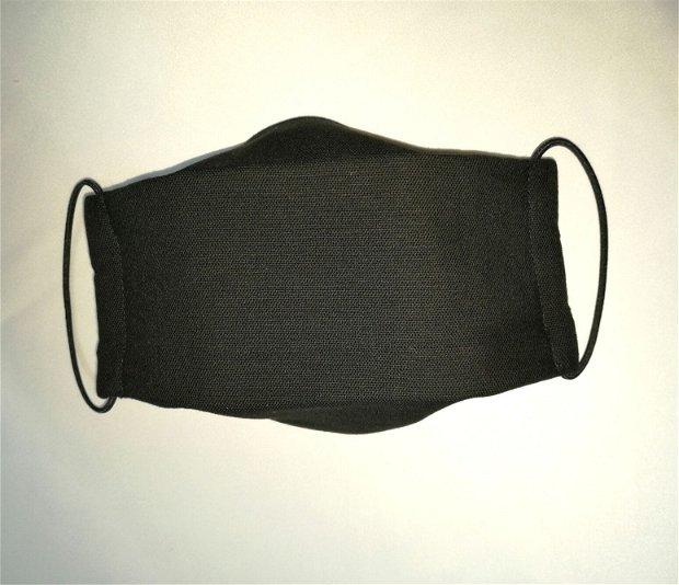 Masca reutilizabila din bumbac in doua straturi