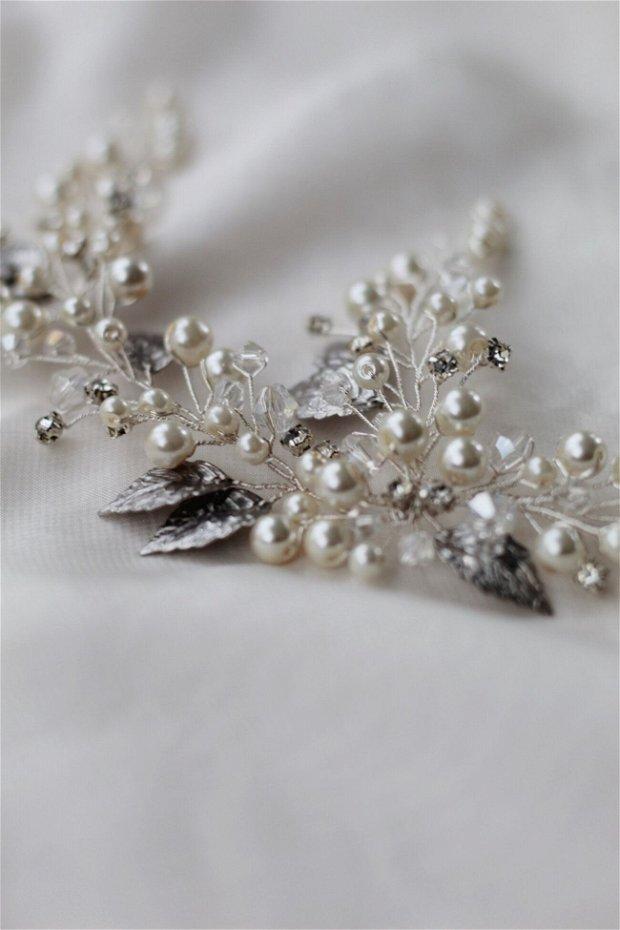Accesoriu Perle & Cristale