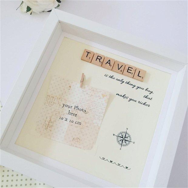 Rama foto Travel | Cadou pentru iubitorii de calatorii