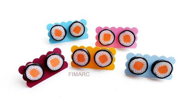 Somon Sushi - cercei pe ureche