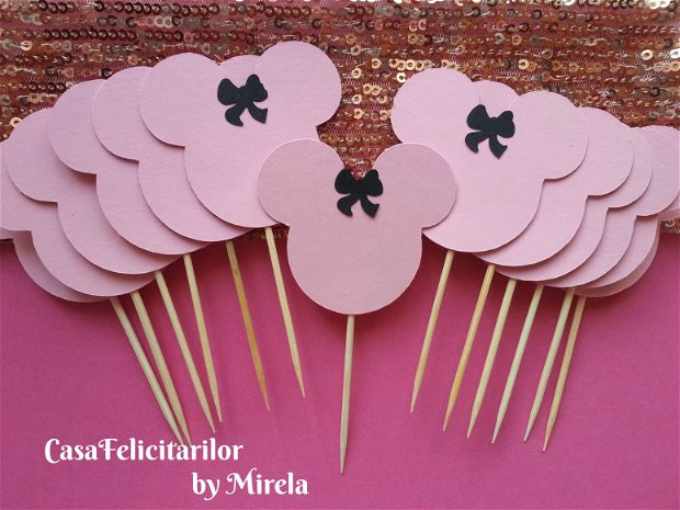 Toppers minnie mouse