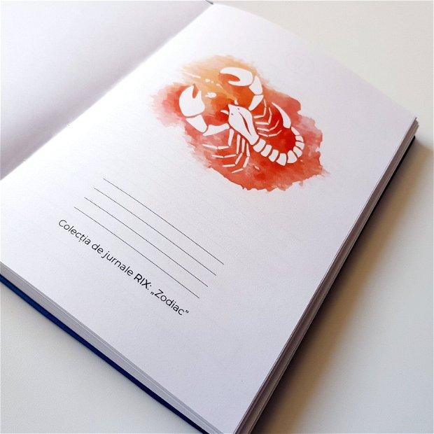 SCORPION - jurnal din Colecția ZODIAC