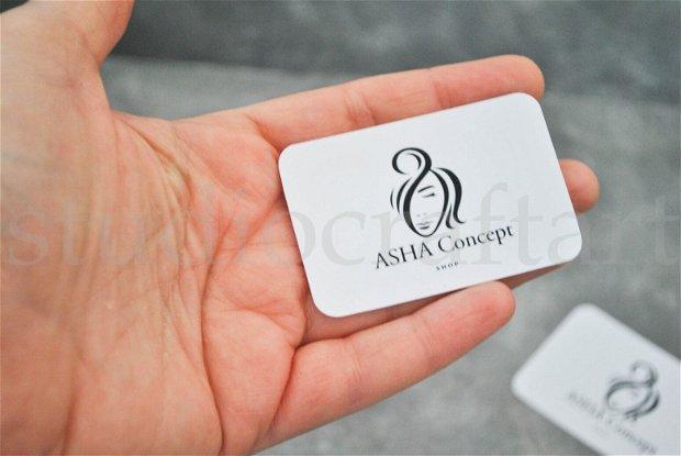 25 buc cartonase prezentare cercei sau bratari, personalizabile