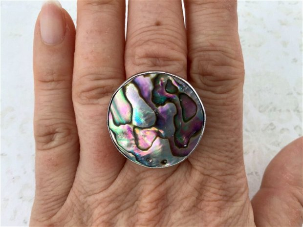 Inele Paua Shell
