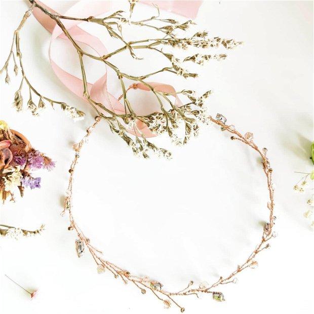 Coronita handmade mireasa / ocazii speciale