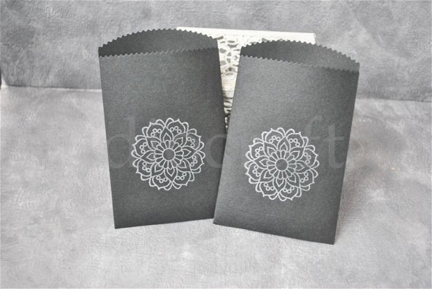Set 20 pungute handmade - mandala