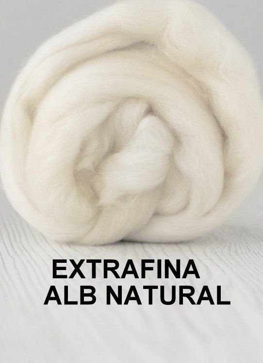 lana extrafina -ALB NATURAL-50g