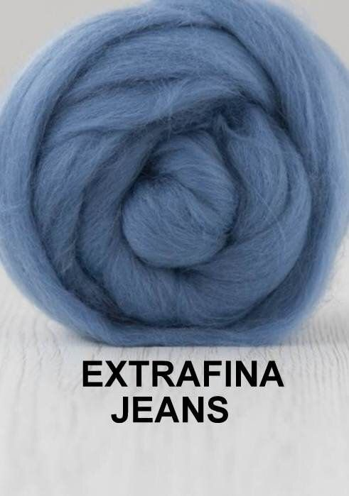 lana extrafina -JEANS-50g