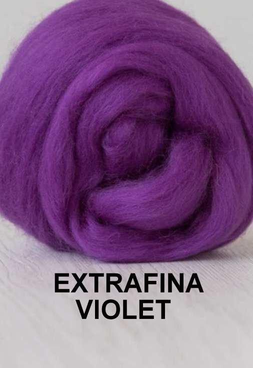 lana extrafina -VIOLET-50g
